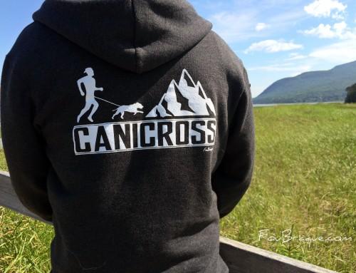 NOUVEAUTÉ: C'est la folie des «hoodies» de canicross!!
