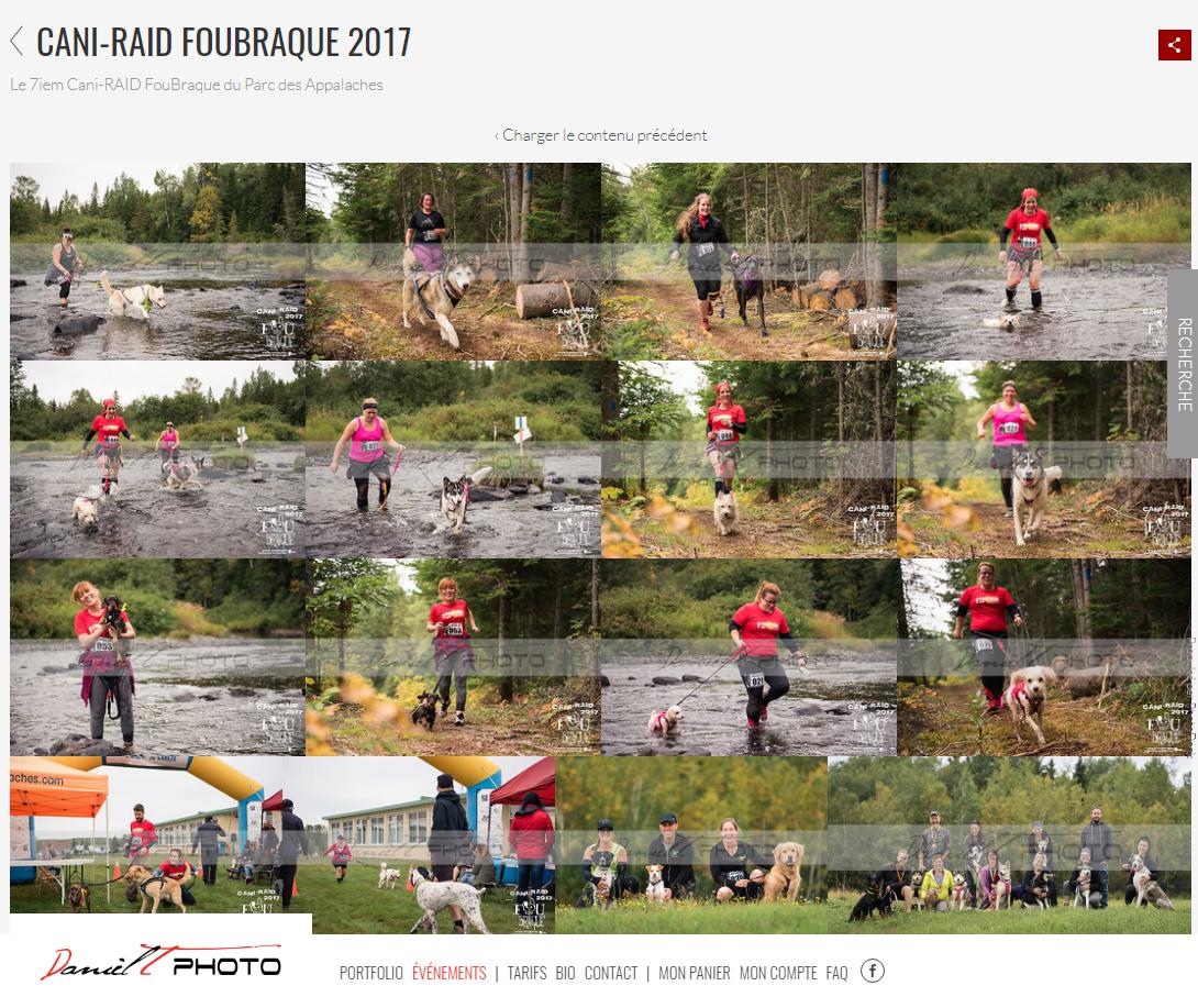 Album souvenir du Cani-RAID FouBraque 2017!